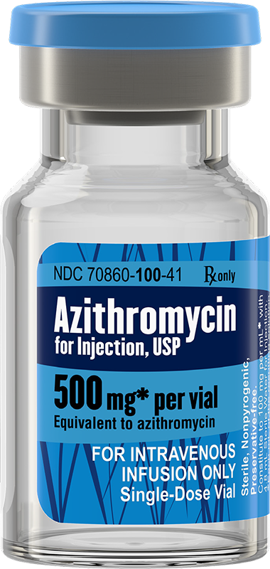 Azithromycin for Injection, USP