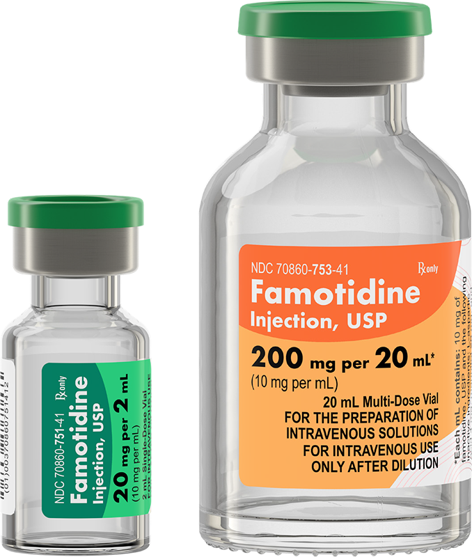 Famotidine Injection, USP